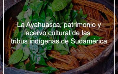 La Ayahuasca, patrimonio y acervo cultural de las tribus indígenas de Sudamérica